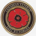 Canadian Veteran Poppy
